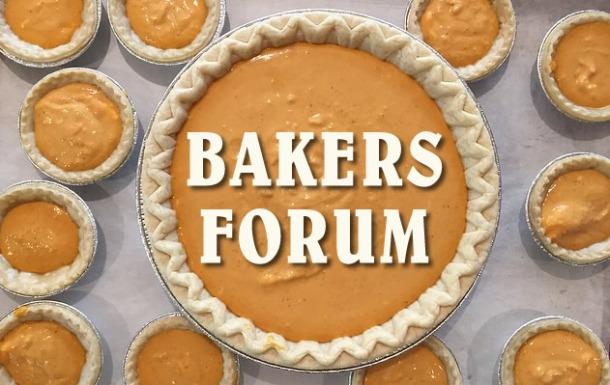 Fall Bakers Fourm